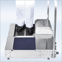 靴底洗浄機 オートマット(湿式)