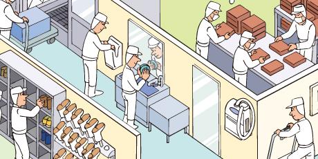 つめっこ除菌ブラシ(爪ブラシ)の使用例